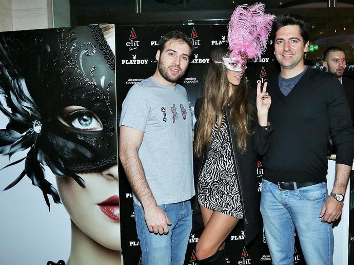 Όσα Έγιναν Στο 1ο Playboy Masquerade Party - εικόνα 12