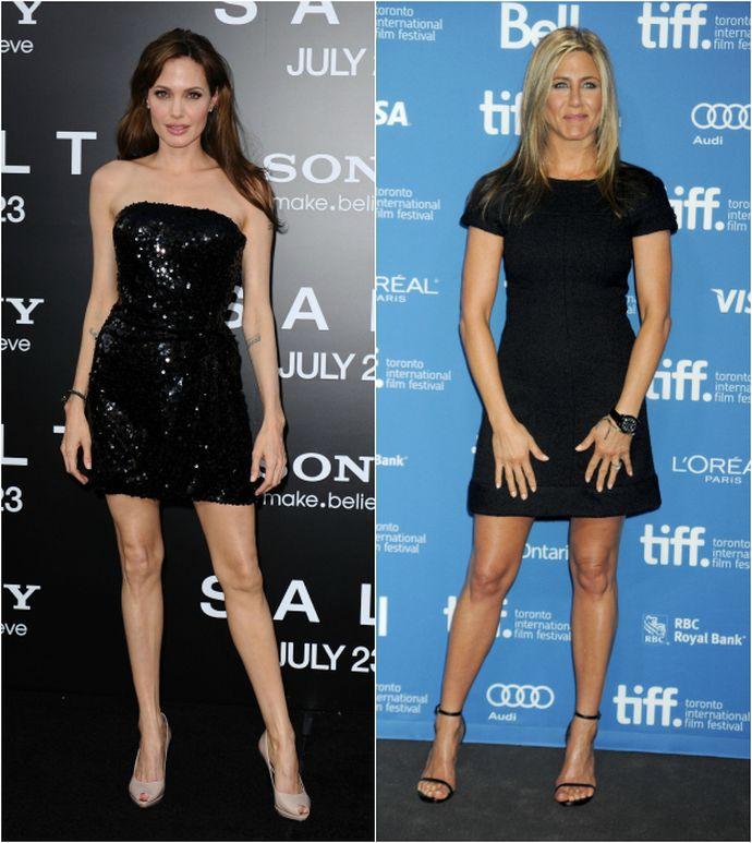 Angelina Jolie VS Jennifer Aniston