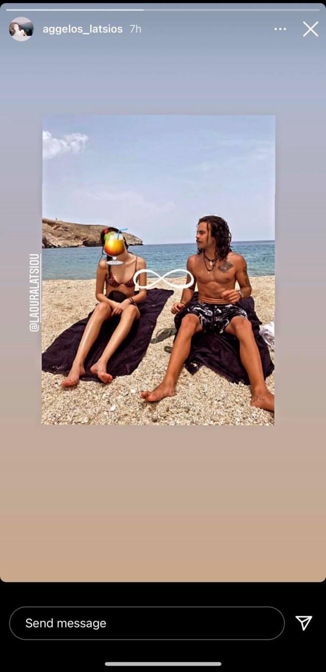 Άγγελος Λάτσιος: Καλοκαιρινές περιπέτειες με την αδερφή του στην Άνδρο - Το σχόλιο της Ελένης Μενεγάκη