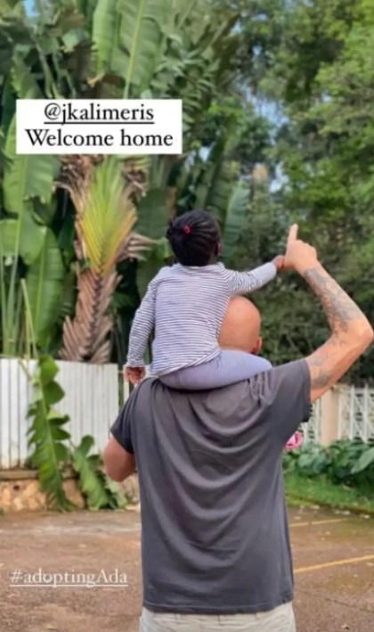 Χριστίνα Κοντοβά - Τζώνη Καλημέρης: H τρυφερή φωτογραφία με την 'Ειντα