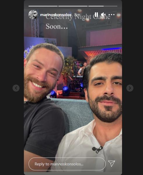 """Στέφανος Μιχαήλ & Μαρίνος Κόνσολος ξανά μαζί στην τηλεόραση! Οι sexy tv stars στο πλατό, 8 χρόνια μετά το """"Μπρούσκο"""""""