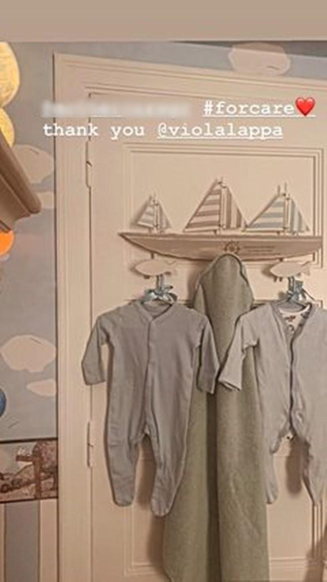 H Τζένη Μπαλατσινού δημοσίευσε την πρώτη φωτογραφία από το παιδικό δωμάτιο του γιου τους