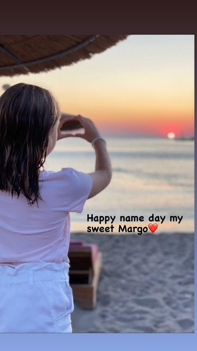 Μαριέττα Χρουσαλά | Η σπάνια φωτογραφία της 8χρονης κόρης της