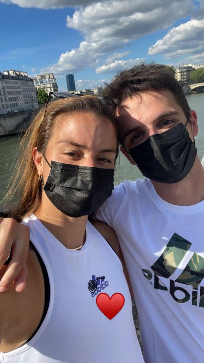 Μαρία Σάκκαρη & Κωνσταντίνος Μητσοτάκης ποζάρουν αγκαλιά μετά το Roland Garros - Οι πρώτες φωτογραφίες τους