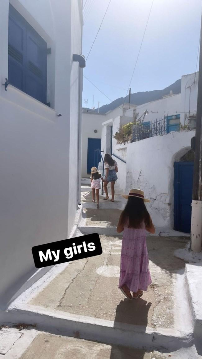 Σταματίνα Τσιμτσιλή κόρες