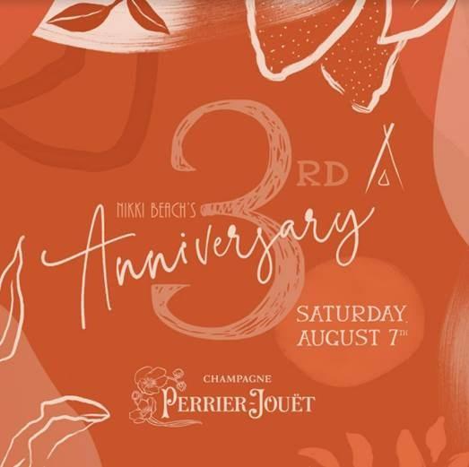 Το NIKKI BEACH RESORT & SPA SANTORINI γιορτάζει τα 3 χρόνια λειτουργίας του με ένα μεγάλο πάρτι που δεν πρέπει να χάσεις!