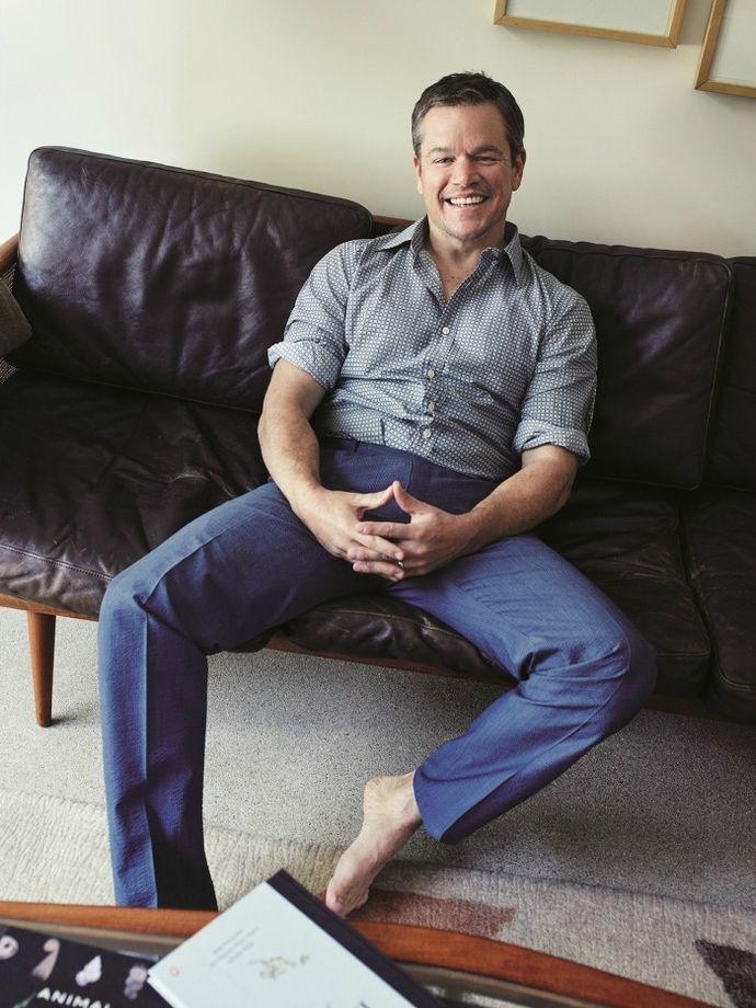 Ο Matt Damon Στο Esquire