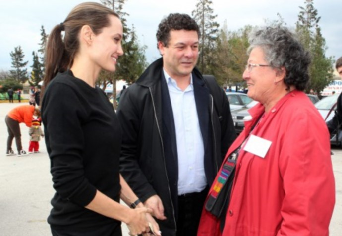 H Angelina Jolie Στην Ελλάδα