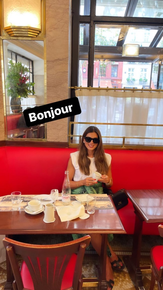 Σταματίνα Τσιμτσιλή Παρίσι story