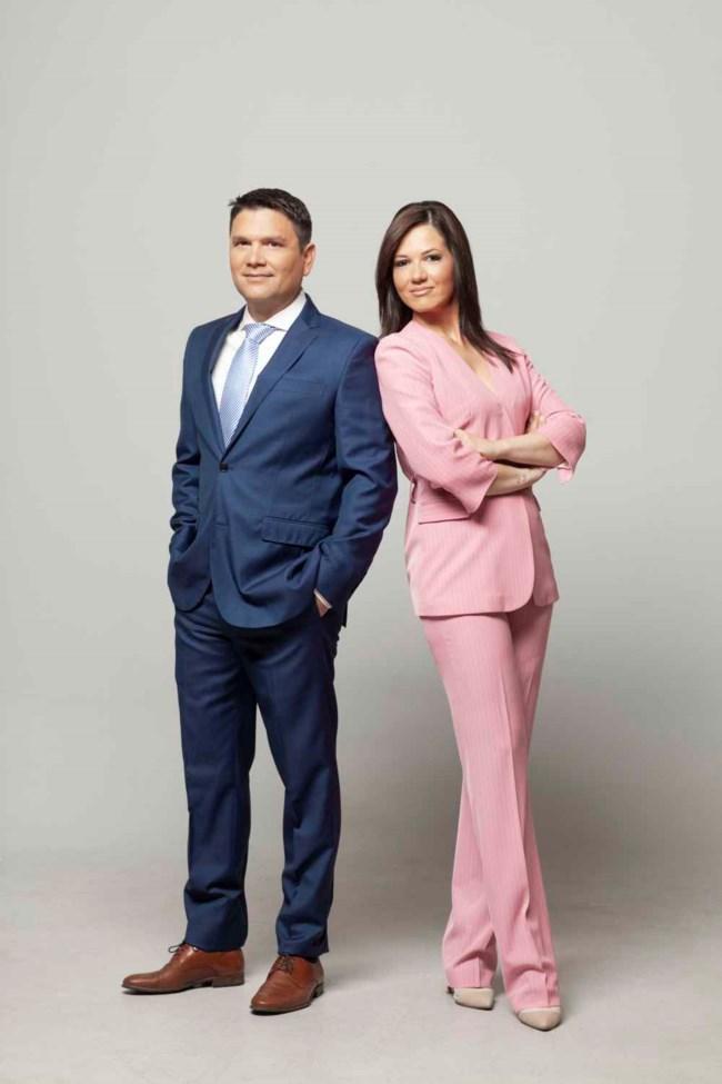 """Το """"Mega Σαββατοκύριακο"""" επιστρέφει! Πότε κάνουν πρεμιέρα ο Ντίνος Σιωμόπουλος και η Στέλλα Γκαντώνα;"""