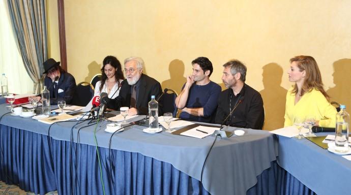 Οδυσσέας Παπασπηλιόπουλος- Μαρίνα Καλογήρου- Ζέτα Δούκα- Θοδωρής Αθερίδης - εικόνα 4