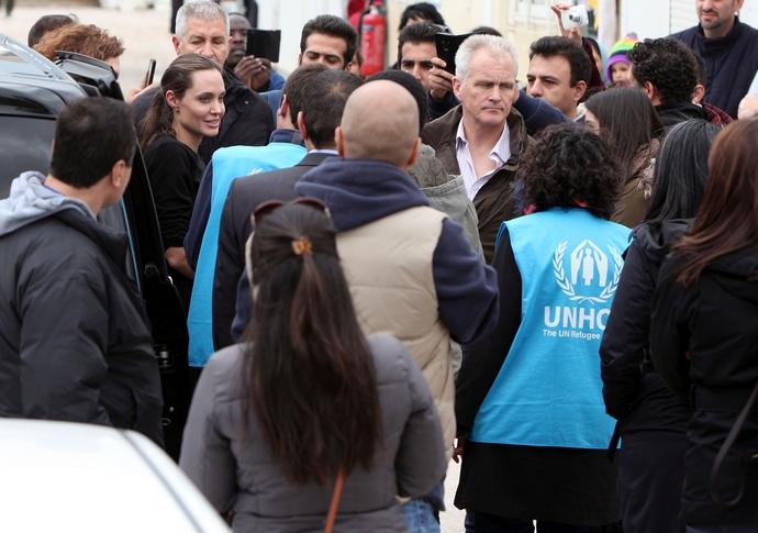 Η Angelina Jolie Στην Ελλάδα