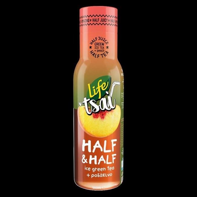 LIFE Tsai Half & Half: Ο εκρηκτικός συνδυασμός με μισό ice tea και μισό φυσικό χυμό ροδάκινο