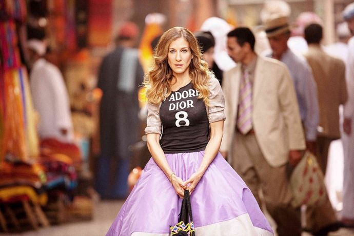Όταν η Gigi Hadid εμπνέεται από την Carrie Bradshaw