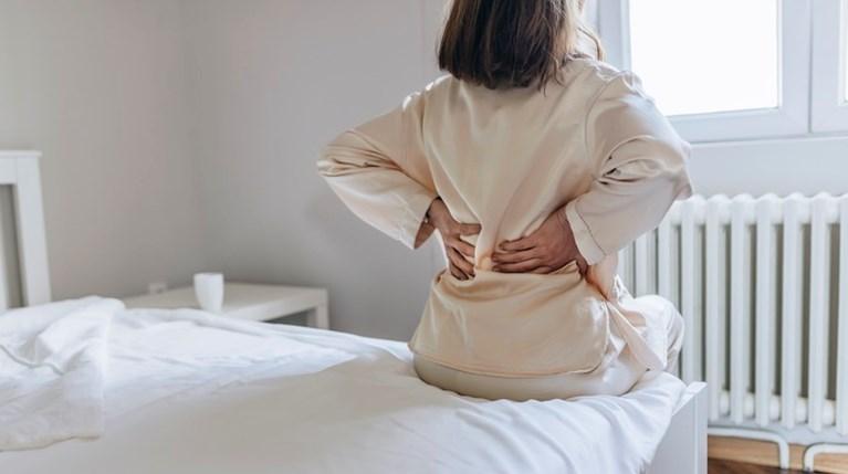 γυναίκα, πόνος, μέση