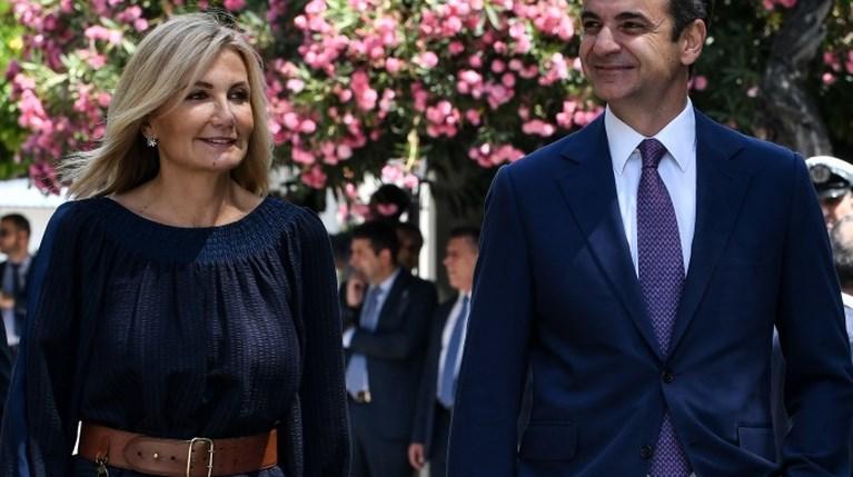 Κυριάκος Μητσοτάκης & Μαρέβα Μητσοτάκη