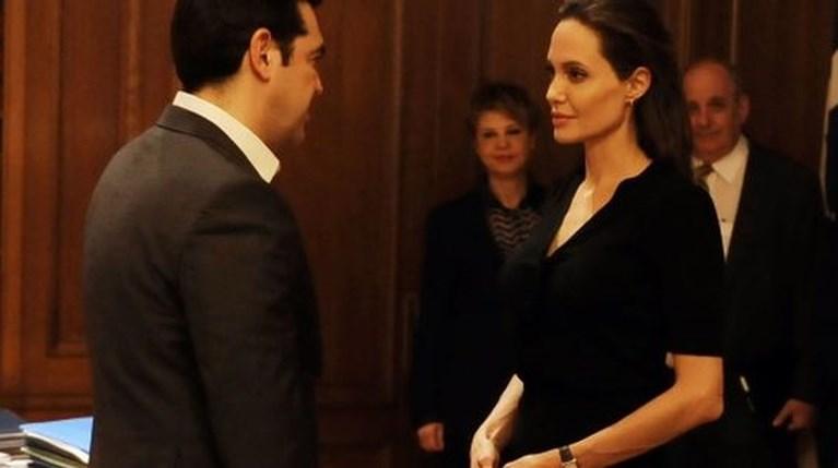 Αλέξης Τσίπρας Angelina Jolie