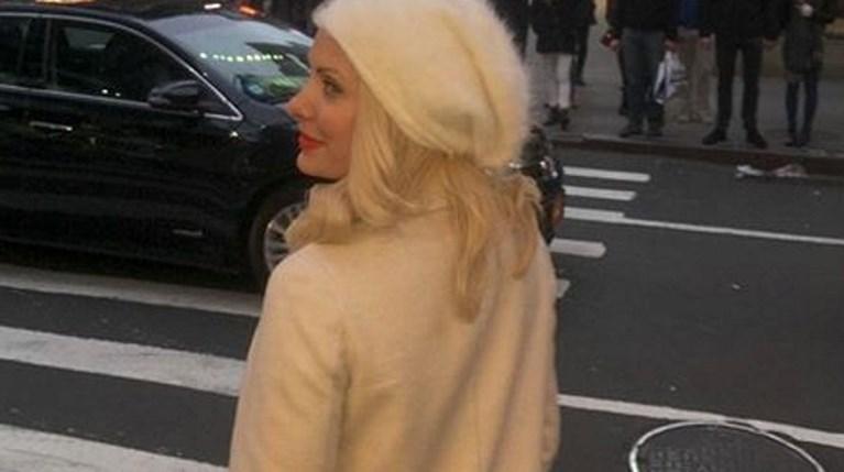 Η Ελένη Μενεγάκη στη Νέα Υόρκη (2)