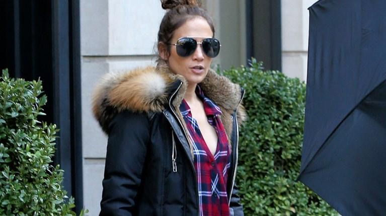 Η Jennifer Lopez στη Νέα Υόρκ