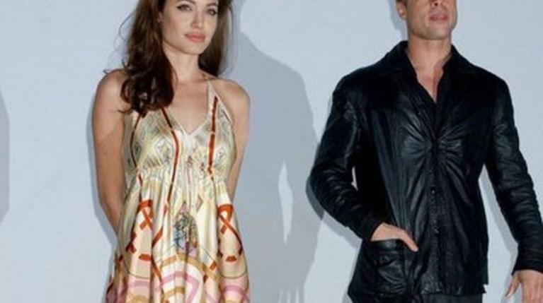 Angelina Jolie - Brad Pitt r