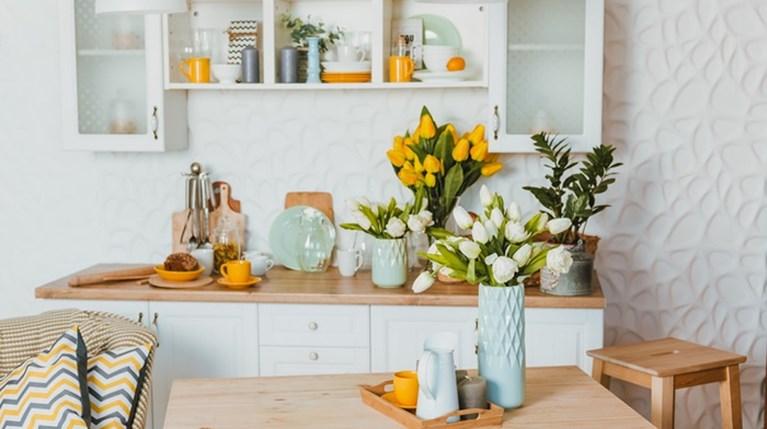λουλούδια, κουζίνα - iStock