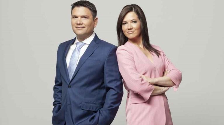 Ντίνος Σιωμόπουλος & Στέλλα Γκαντώνα