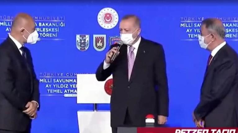 Ρετζέπ ΤαγίπΕρντογάν & εργολάβος