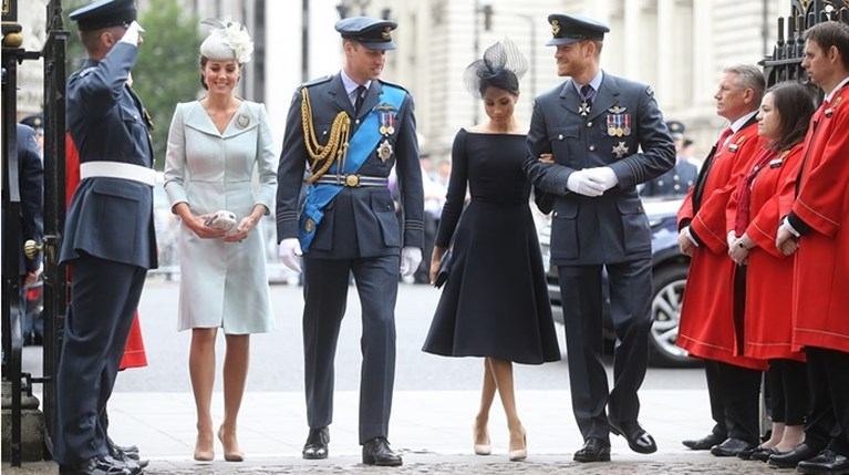 Kate Middleton Meghan Markle Πρίγκιπας Harry Πρίγκιπας William