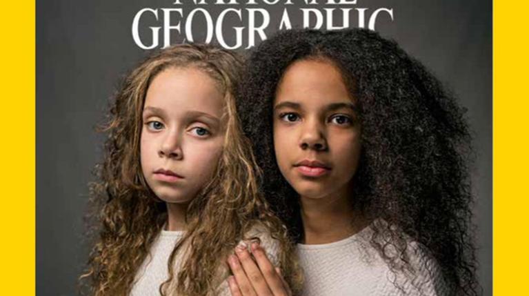 Δύο δίδυμες γράφουν ιστορία στο εξώφυλλο του National Geographic