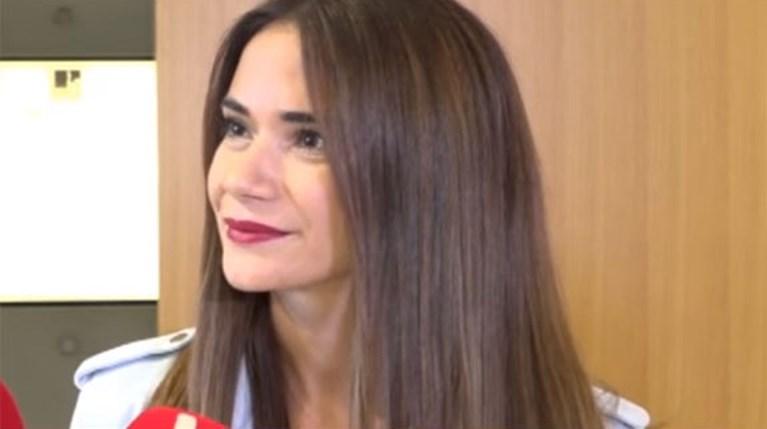 Άννα Μπουσδούκου - τηλεοπτικές κάμερες