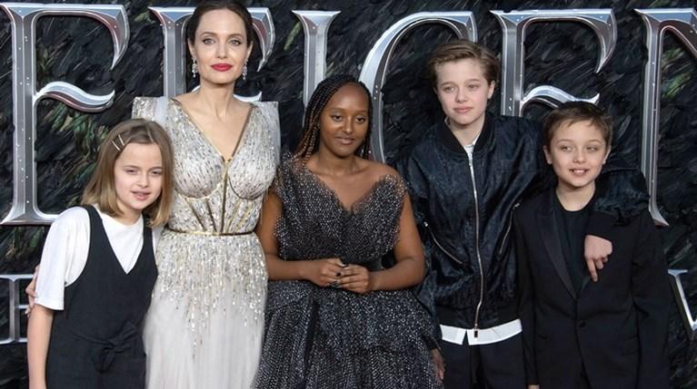 Angelina Jolie με παιδιά
