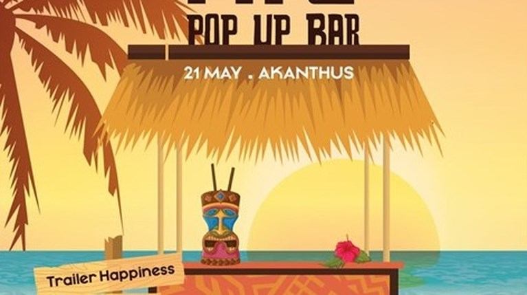 The Clumsies | Tiki Pop Up Bar