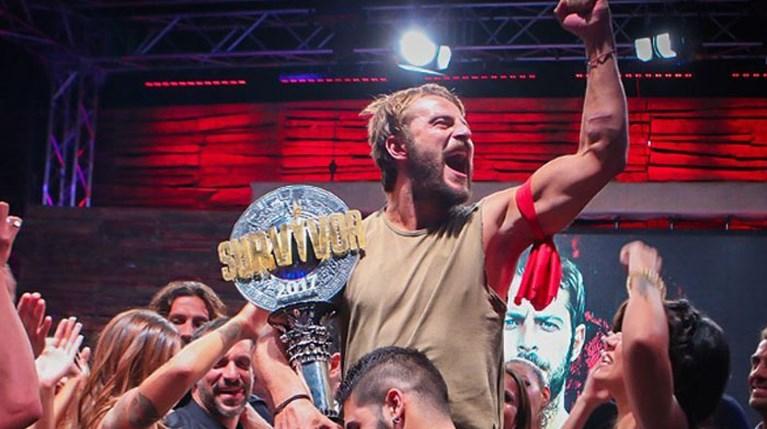 Γιώργος Αγγελόπουλος-νικητής Survivor 2017