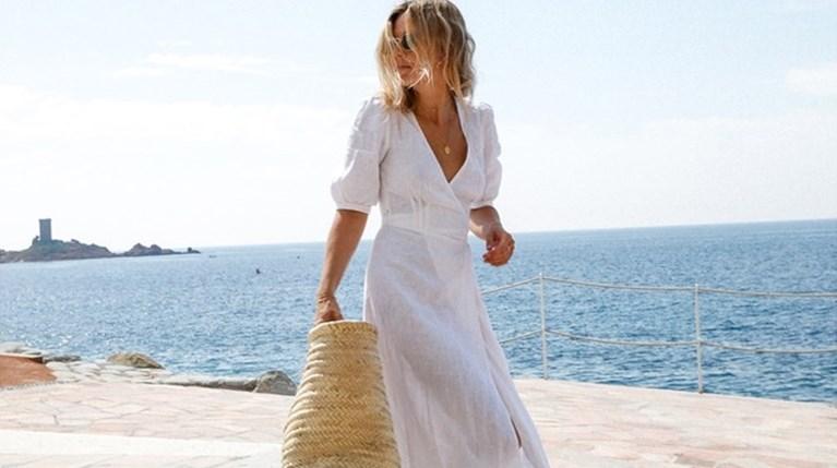 Λευκό φόρεμα