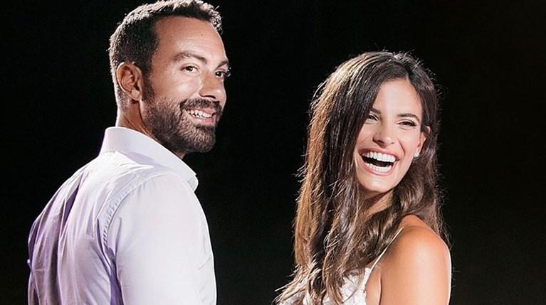 Χριστίνα Μπόμπα & Σάκης Τανιμανίδης γάμος R
