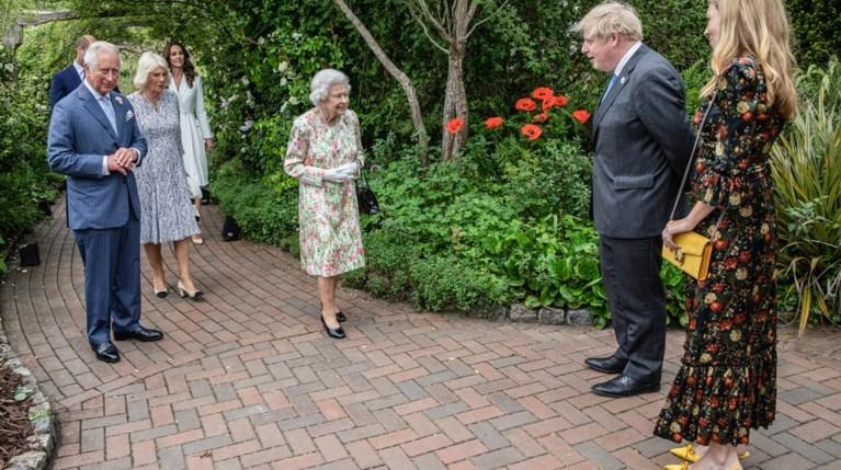 Σύνοδος G7 | Τι φόρεσαν οι καλεσμένες στη δεξίωση της Βασίλισσας Ελισάβετ