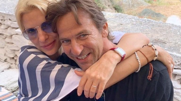 Ελένη Μενεγάκη και Μάκης Παντζόπουλος