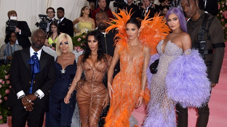 Met Gala Kardashians