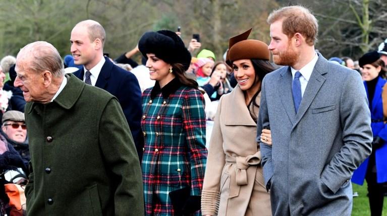 Πρίγκιπας William - Πρίγκιπας Φίλιππος - Kate Middleton - Πρίγκιπας Harry - Meghan Markle