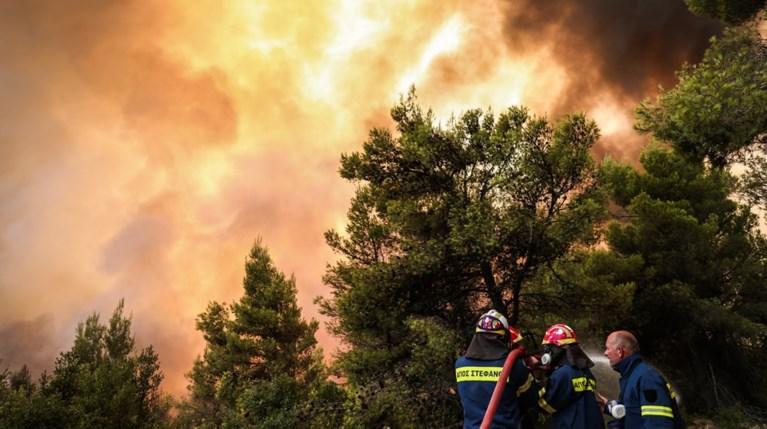 φωτιά Πυρκαγιές στην Ελλάδα