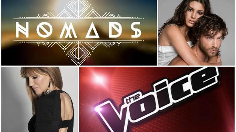 The Voice, Nomads, Τατουάζ, Πάμε Πακέτο