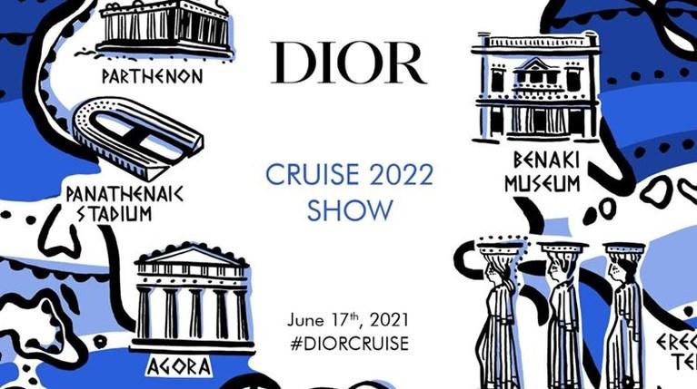 Dior Cruise 2022 Καλλιμάρμαρο