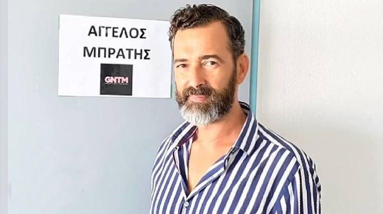 Άγγελος Μπράτης GNTM με μούσια