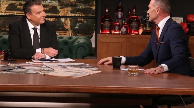 Γιώργος Λιάγκας & Πέτρος Κωστόπουλος στο Late Night