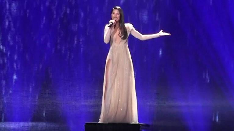 Demy Στη δεύτερη πρόβα για την Eurovision