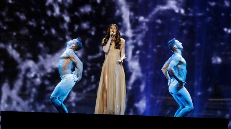 Demy - Πρόβα Ημιτελικός Eurovision 2017