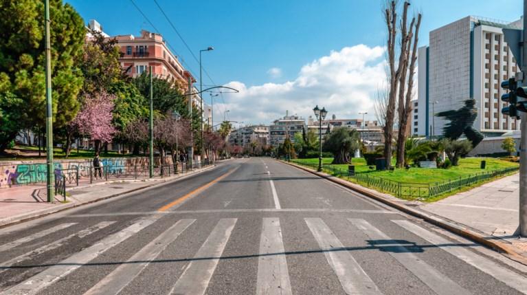 Αθήνα lockdown κορονοϊός