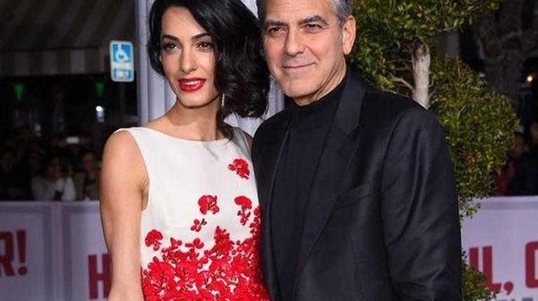 George Clooney -Amal Alamuddin ρ