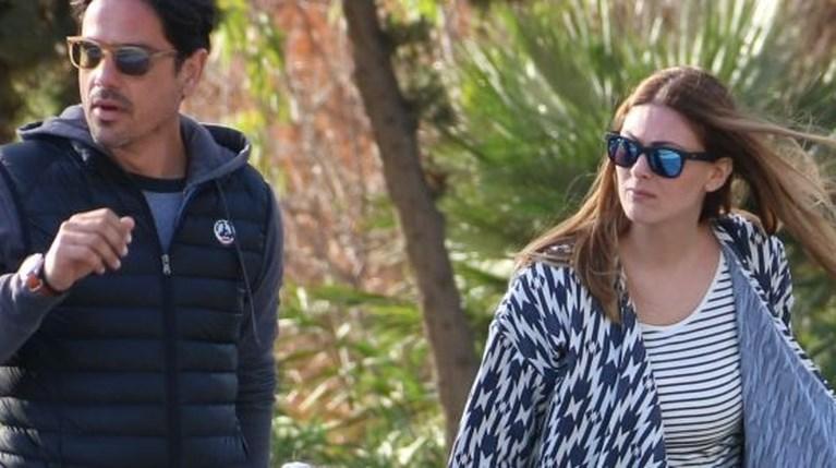 Ο Βαγγέλης Ταρασιάδης, η Δέσποινα Καμπούρη και η κόρη τους, Έλενα (1)