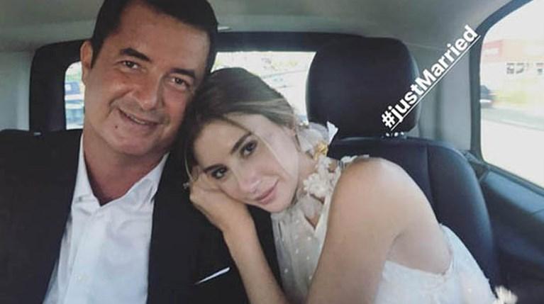 Ο γάμος του Acun Ilicali & της Seyma Subasi R